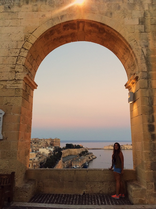 Kulturelles Fenster in Valletta