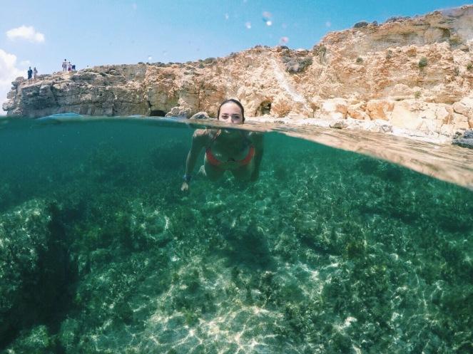 Maltas Unterwasserwelt. Glasklare Sicht