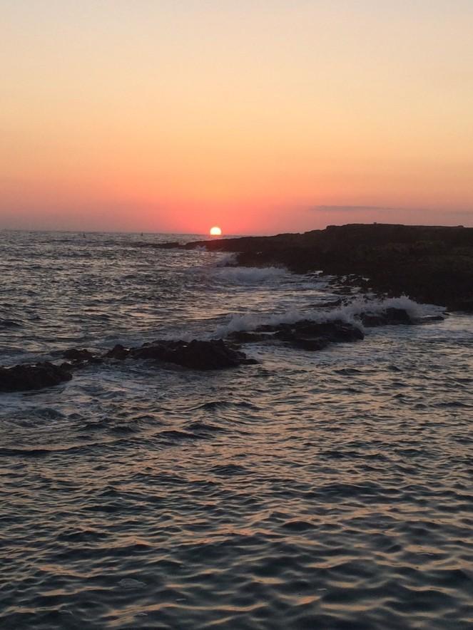 Sonnenaufgang Bugibba