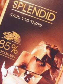 85% Schoki für vegane Mousse au Chocolat