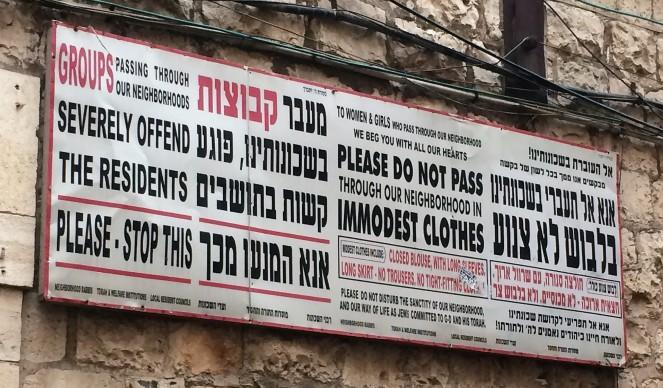 Mea Shearim Jerusalem: Ultra-orthodoxes jüdisches Stadtviertel