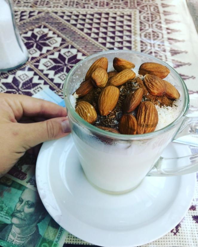 """Sahlep bei """"Al Muftis"""" - Café und Espresso Bar"""