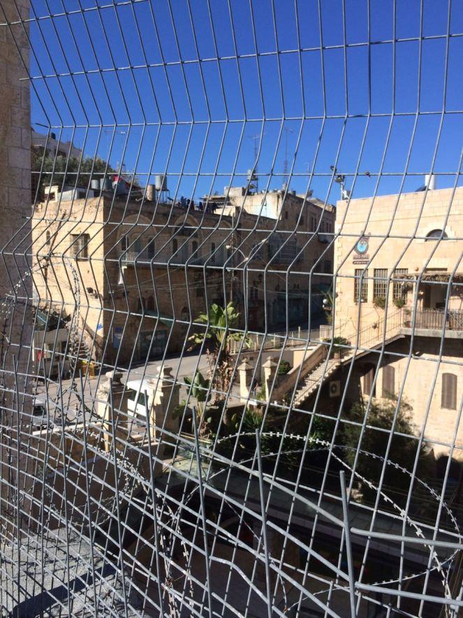 Dachterrasse Hebron, West Bank