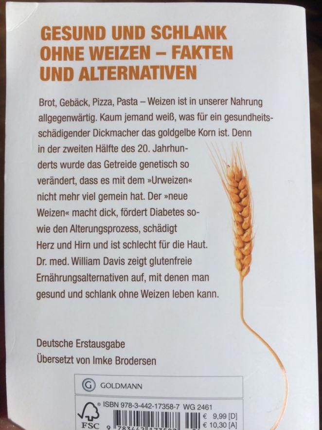 """Buchrücken """"Weizenwampe"""""""