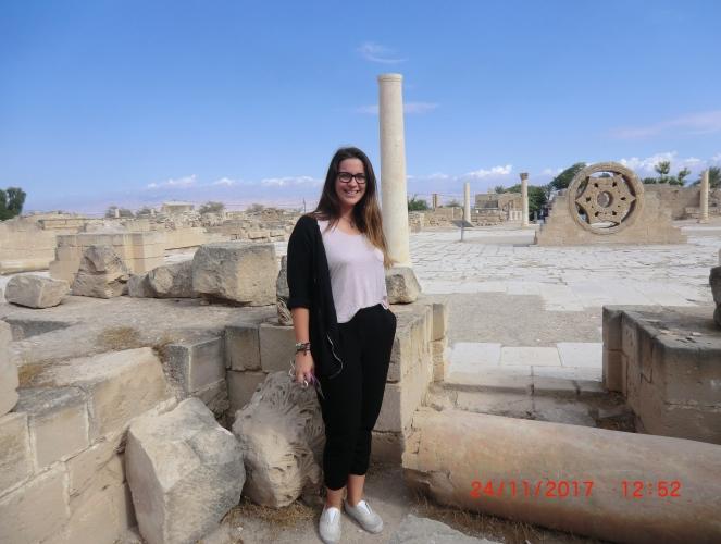 Hisham's Palace in Jericho