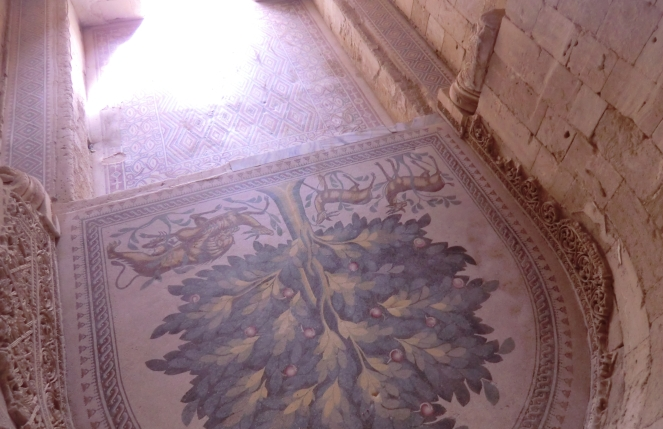 Mosaik-Teppich